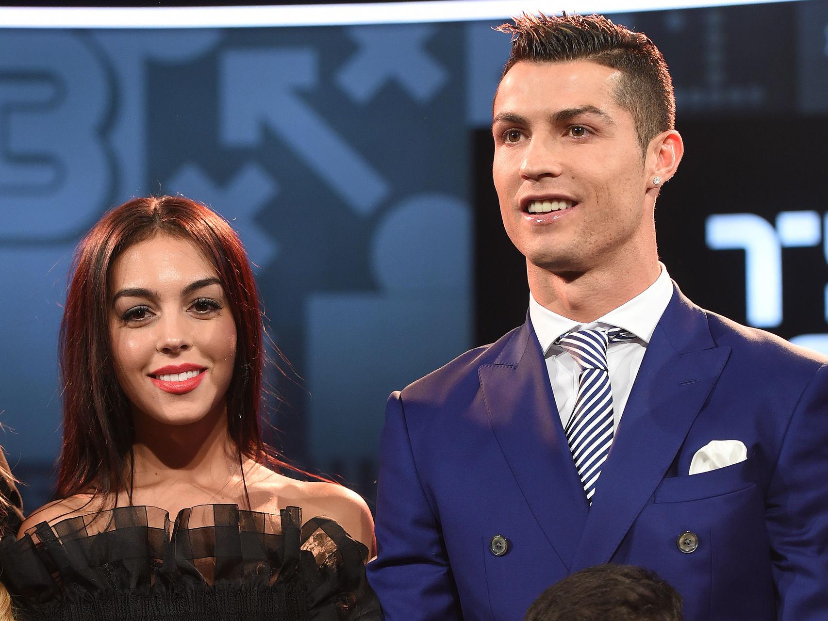 Cristiano presentó a su novia en sociedad hace dos días en la gala de la FIFA.