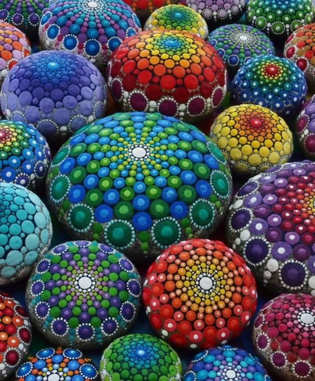 Foto: Piedras mandálicas por Elspeth McLean