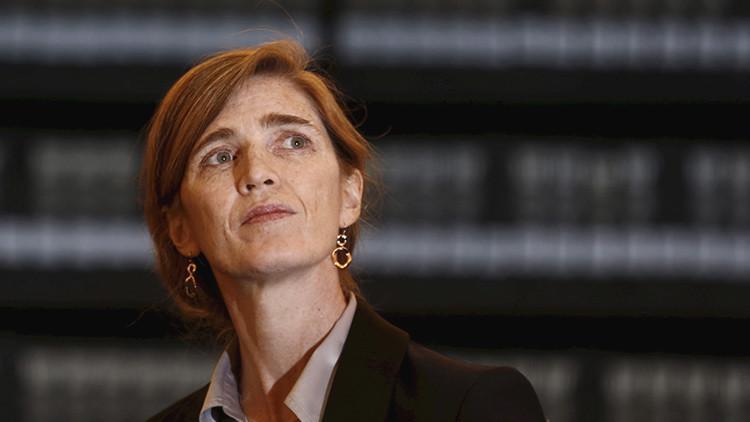 La embajadora de EE.UU. ante la ONU miente sobre el presupuesto de la