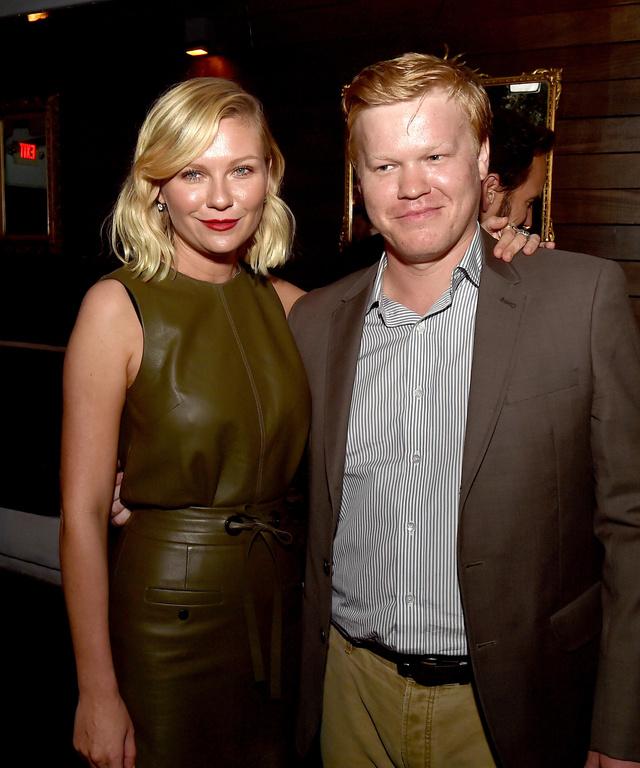 Kirsten Dunst y Jesse Plemons, en el estreno de la segunda temporada de
