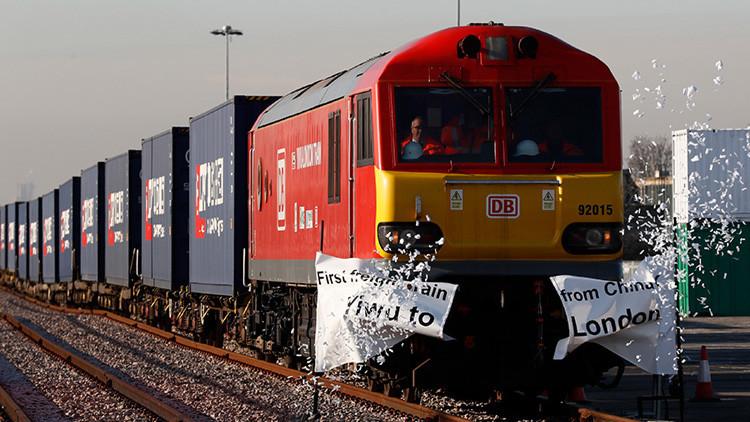 Llega a Londres el primer tren de carga proveniente de China