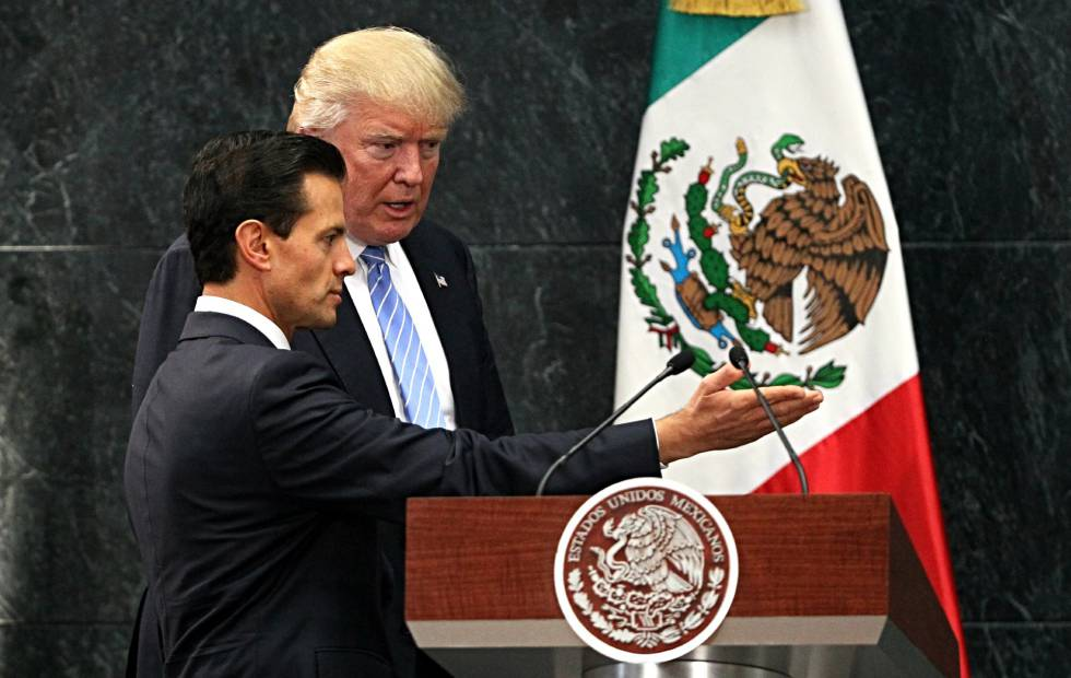 El día que Peña Nieto recibió a Trump.