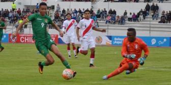 Selección boliviana sub-20 gana en su debut ante Perú