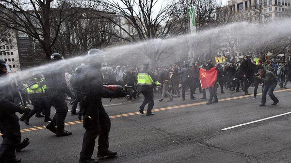 230 manifestantes fueron arrestados (AFP)
