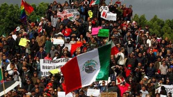 Manifestaciones en contra del Gasolinazo en Tijuana (Baja Califronia) (Reuters)