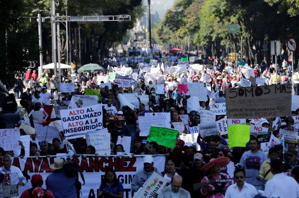 Las protestas en México DF (Reuters)