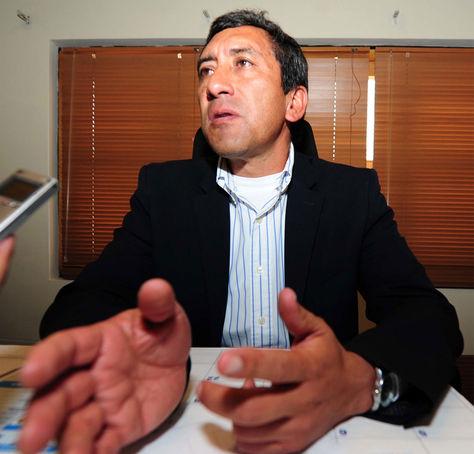 El ministro Tito Montaño