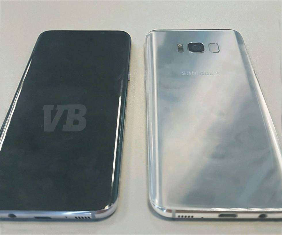 El Samsung Galaxy S8.
