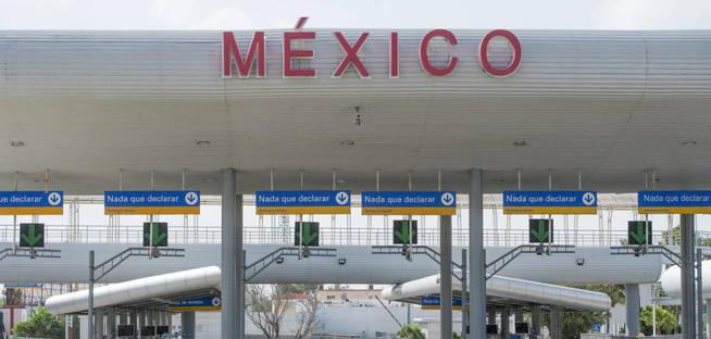 Frontera sur de México con Estados Unidos en Río Grande. (EFE)
