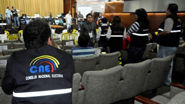 El Consejo Nacional Electoral (CNE) minimiza el problema