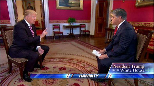 Trump en su última entrevista, con Fox News