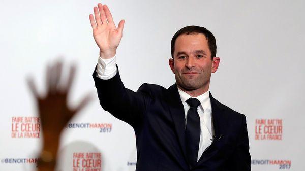 Benoît Hamon representa al ala izquierda del partido (Reuters)