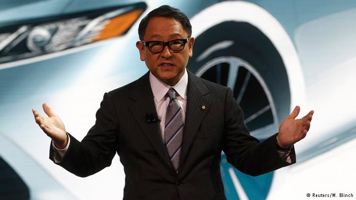 USA Akio Toyoda in Detroit (Reuters/M. Blinch)
