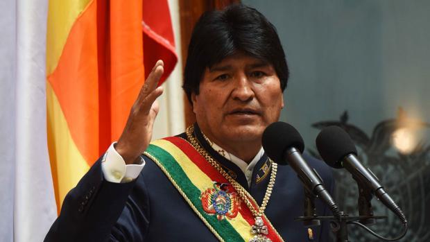 Evo Morales, durante la conmemoración de sus once años en el poder en una sesión del Congreso, el pasado 22 de enero en La Paz