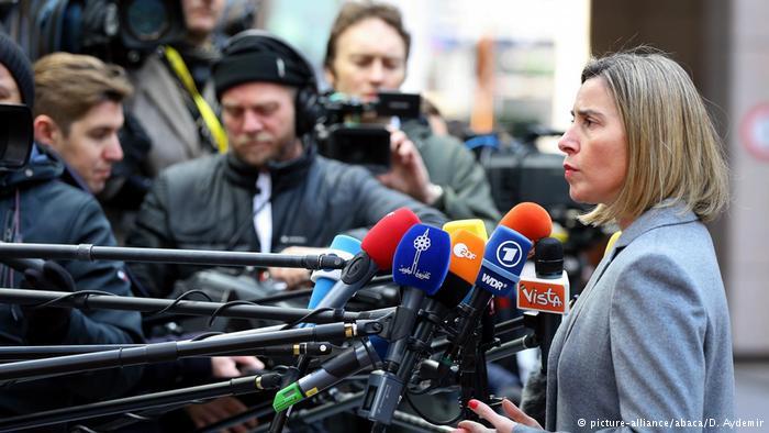 Belgien | EU-Gipfel | Federica Mogherini (picture-alliance/abaca/D. Aydemir)