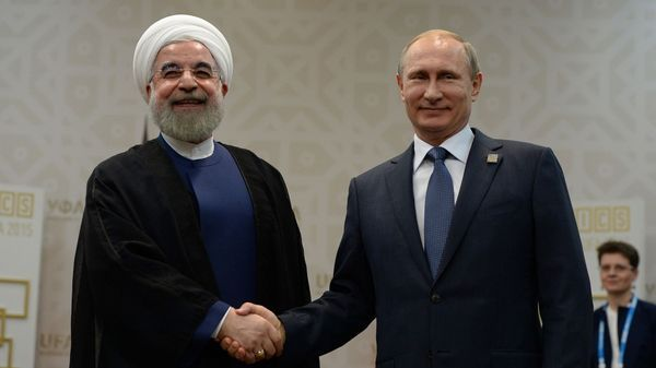 Hasan Rohani y Vladimir Putin (Getty Images)