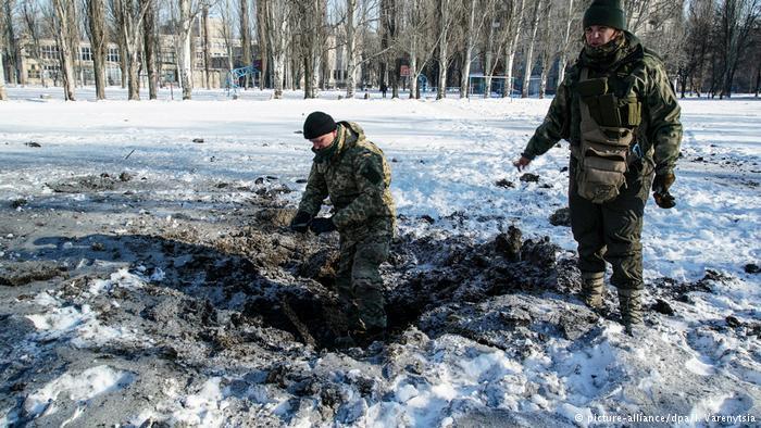 Ukraine Awdijiwka Konflikt (picture-alliance/dpa/I. Varenytsia)