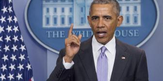Barack Obama da su última rueda de prensa
