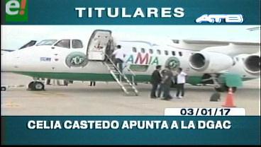 Video titulares de noticias de TV – Bolivia, mediodía del martes 3 de enero de 2017