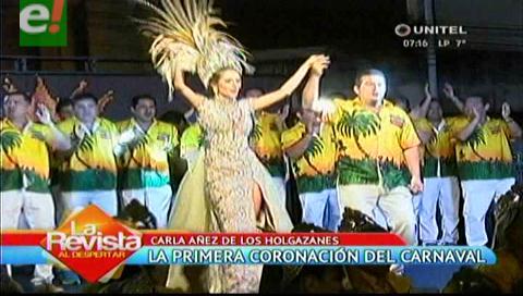 Carla Áñez coronada reina de los Cambas Holgazanes 2017