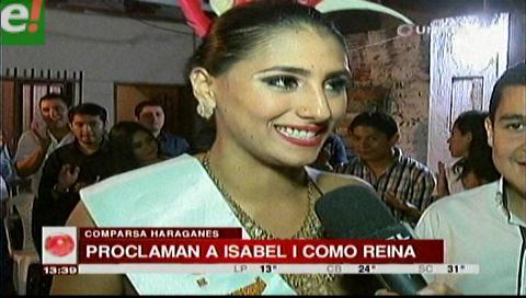 Los Haraganes de Vallegrande proclamaron a su soberana del carnaval 2017