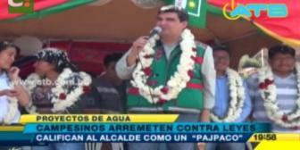 """Calificaron al alcalde de Cochabamba de """"pajpaco"""""""