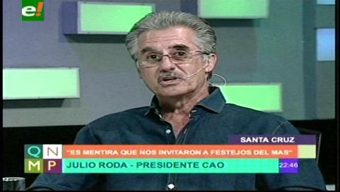 Roda: Ya se quemó con el sector productivo Samuel Doria Medina