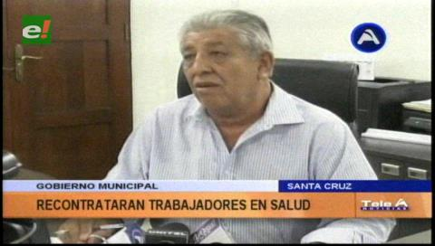 Santa Cruz: Recontratan a 2.300 trabajadores de hospitales municipales