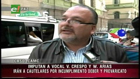 Fiscalía imputa a dos vocales de Justicia de La Paz por amparo en favor de la china CAMC