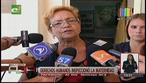 Derechos Humanos inspeccionó la Maternidad Percy Boland