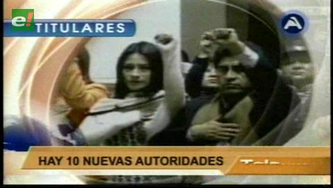 Video titulares de noticias de TV – Bolivia, mediodía del lunes 23 de enero de 2017