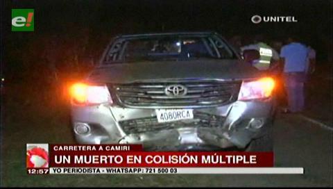 Accidente en la ruta a Camiri deja un muerto