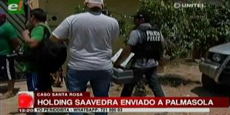 Dictan detención preventiva para Holding Saavedra por el caso Santa Rosa