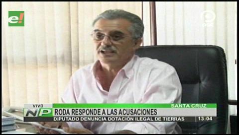 Roda se querella contra Quispe por conflicto de tierras