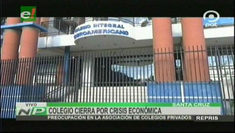 Por crisis económica: Confirman el cierre del colegio Iberoamericano