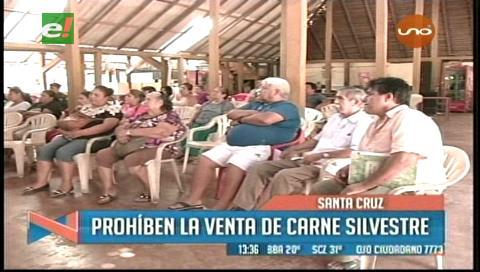 Prohíben la venta de comidas con carne de monte en las cabañas del Piraí