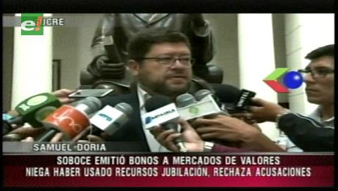 Doria Medina niega haber usado los Fondos de Pensiones para beneficiar a Soboce