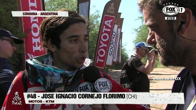 """José Ignacio Cornejo: """"Hoy pude tener un buen ritmo, me sentí cómodo"""""""