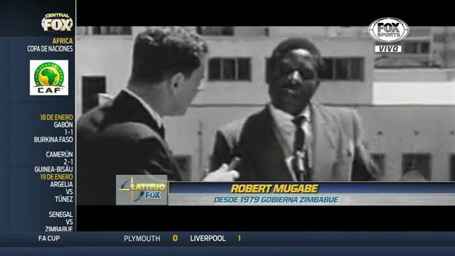 La dictadura y su vínculo con el fútbol en Zimbabue, vía Alberto Lati