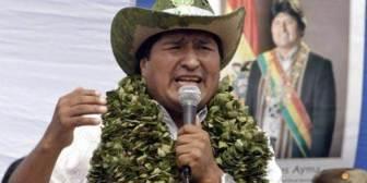 """Evo Morales aumenta la coca y el narcoestado """"por ley"""" en Bolivia"""
