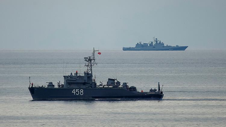 La Armada de Rusia indica que las declaraciones de Ucrania sobre el ataque a su avión son