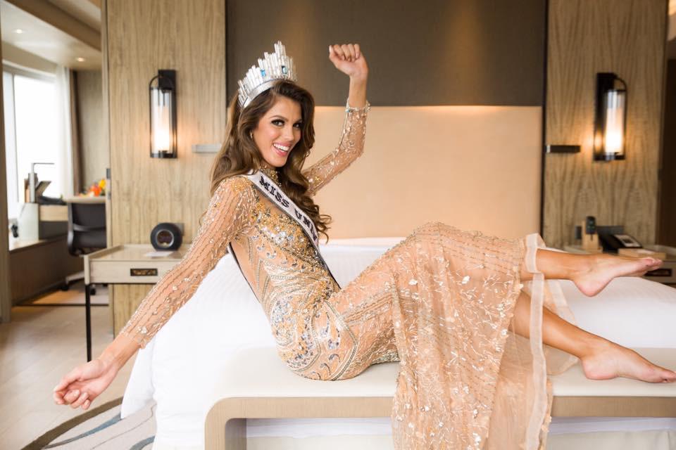 Iris Mittenaere, Miss Universo