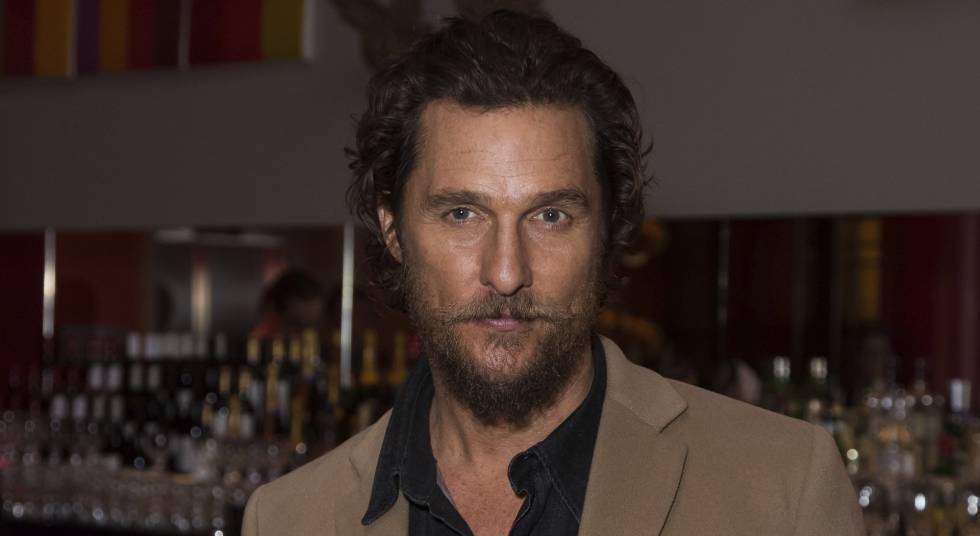 El actor Matthew McConaughey, el pasado enero en el estreno de