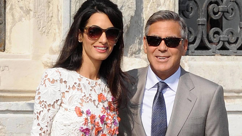Foto: George Clooney y Amal Alamuddin en una imagen de archivo (Gtres)