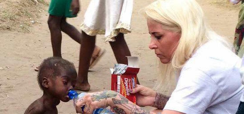 """La emocionante evolución que ha tenido Hope, el niño abandonado en África por ser """"brujo"""""""