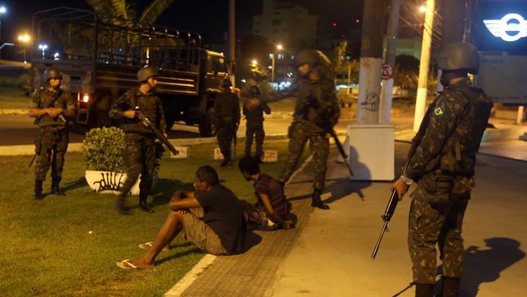Brasil: El caos se apodera de Espírito Santo durante una huelga policial (VIDEOS)