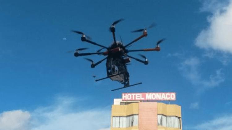 Dron alcaldia Santa Cruz Bolivia