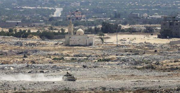 La frontera entre Israel y la Península del Sinaí es escenario de enfrentamientos y lanzamientos de cohetes
