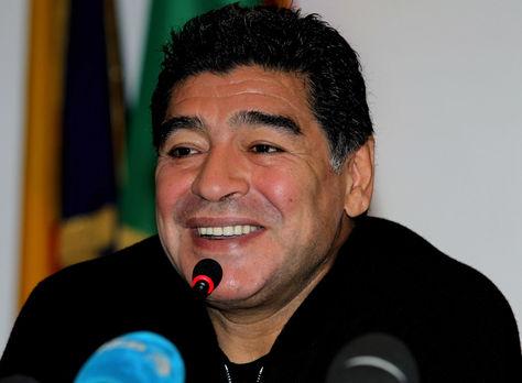 El exfutbolista argentino Diego Armando Maradona. Foto: Internet