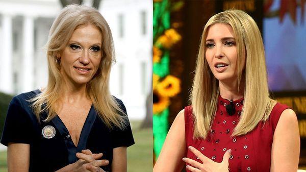 La asesora del presidente Trump pidió que compren ropa de la marca de Ivanka Trump (Getty Images)